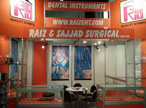 Exhibition for raiz and sajjad surgical