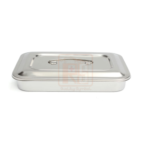 Instruments Tray Instruments Tray With Lid - Cover 25cm